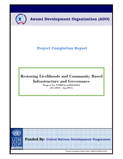 PROJECT COMPLETION REPORT (PCR LEP III)